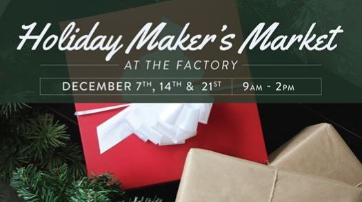 The Roasterie Holiday Makers Market - wrapped Christmas gifts
