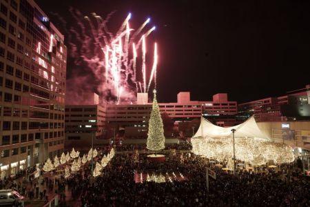 Kansas City Mayor's Christmas Tree lighting ceremony