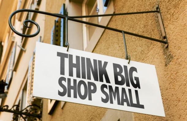 Small Business Saturday Deals and Events in Kansas City - store sign