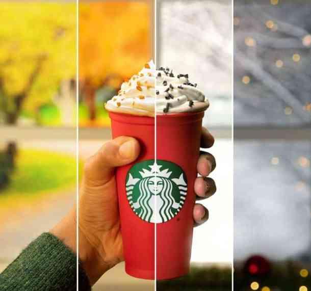 KANSAS City restaurant deals - Starbucks reusable red cup