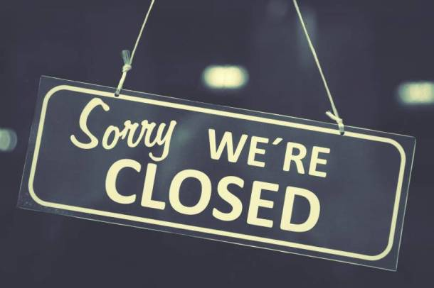 Stores closed Easter Sunday