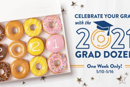Krispy Kreme Graduate Donuts