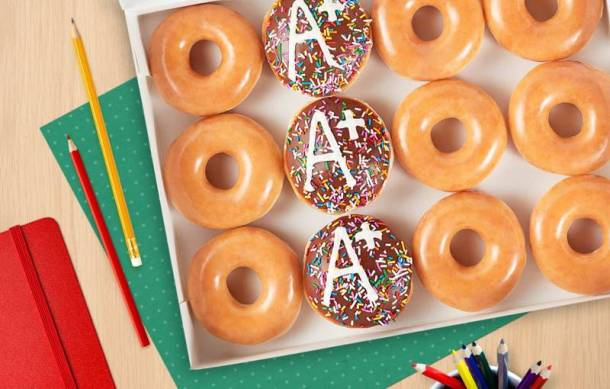 Krispy Kreme Educators Week Special