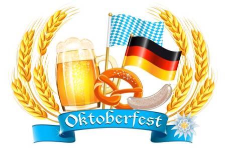 Transport Brewery Oktoberfest - beer, pretzels and flags