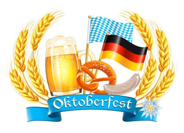 Transport Brewery Oktoberfest - beer, pretzels and flags