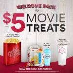 AMC Theatres: Everyday Matinées and $5 Concessions