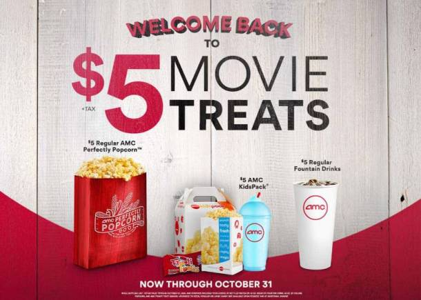 AMC Theatre movie discounts
