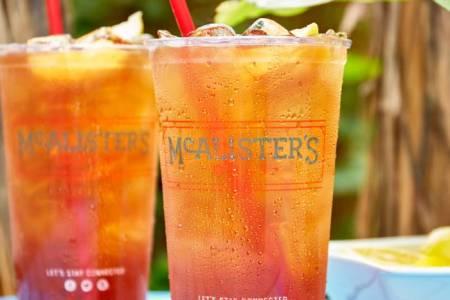 McAlister's Deli free tea