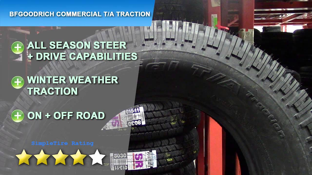 BFGOODRICH COMMERCIAL TA TRACTION TIRE REVIEW | SimpleTire.com