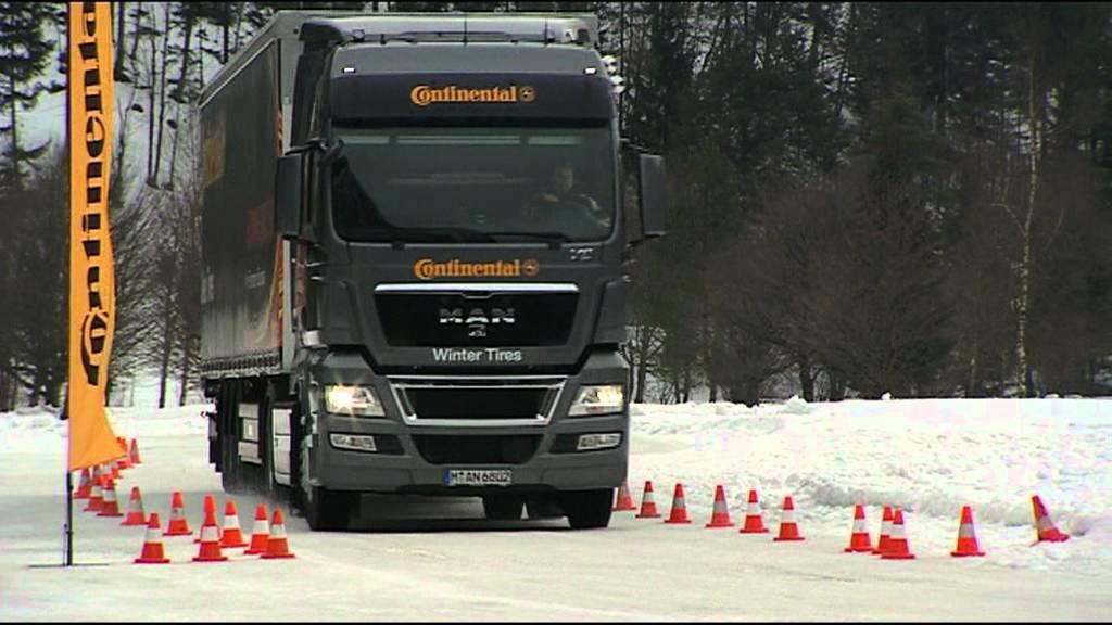 Continental Truck Tires Allround vs Winter Tires