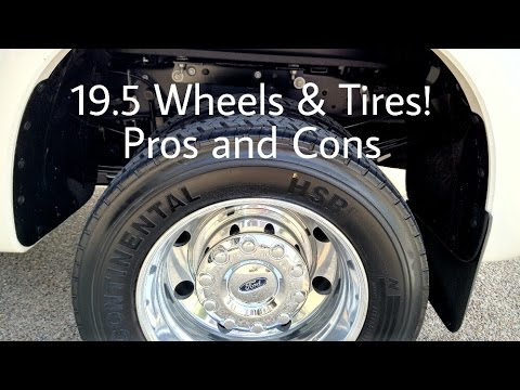 F450 and trucks with 19.5 Wheels and Tires
