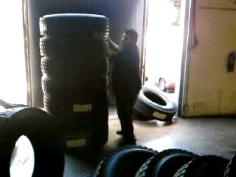 how to realy stack truck tires