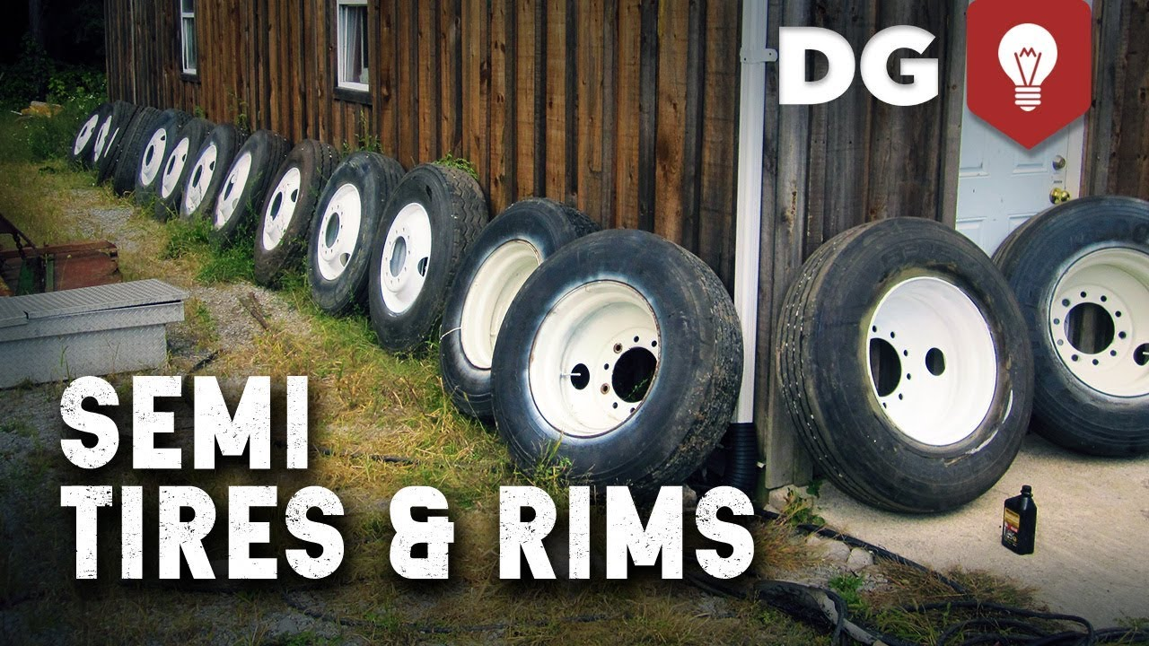 How To Restore Pitted Semi Truck Tires & Rims