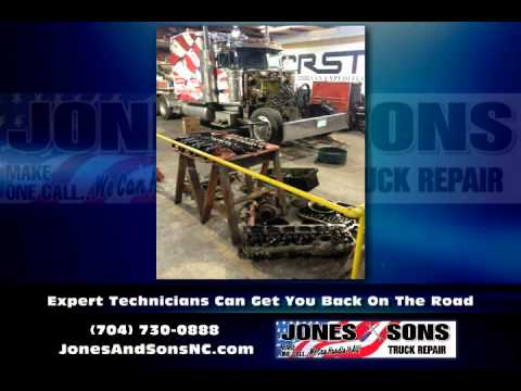 Kings Mountain NC 24 Hour Road Service  Jones and Sons Truck Repair