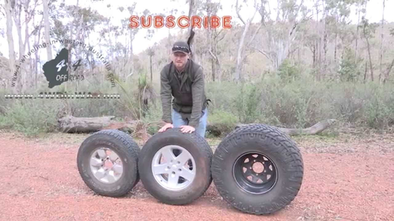 Choosing bigger tyres for your 4x4 benefits & issues off-road, 4 Wheeling Quick tip
