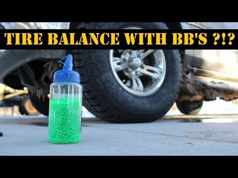 How to balance your tires with BB's. Is it Legit ???