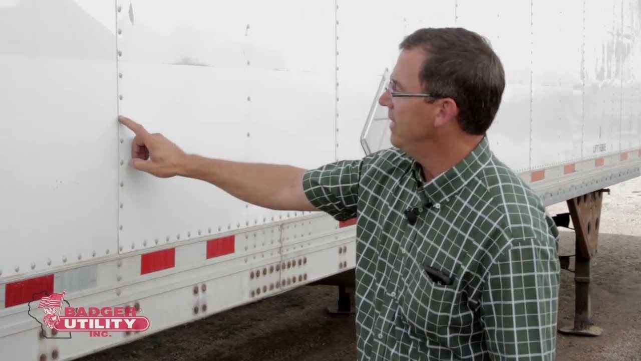Reefer Trailer Foam Repairs