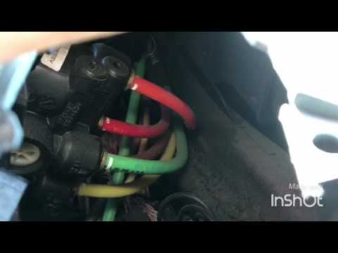 Volvo VNL dash air brake valve replacement