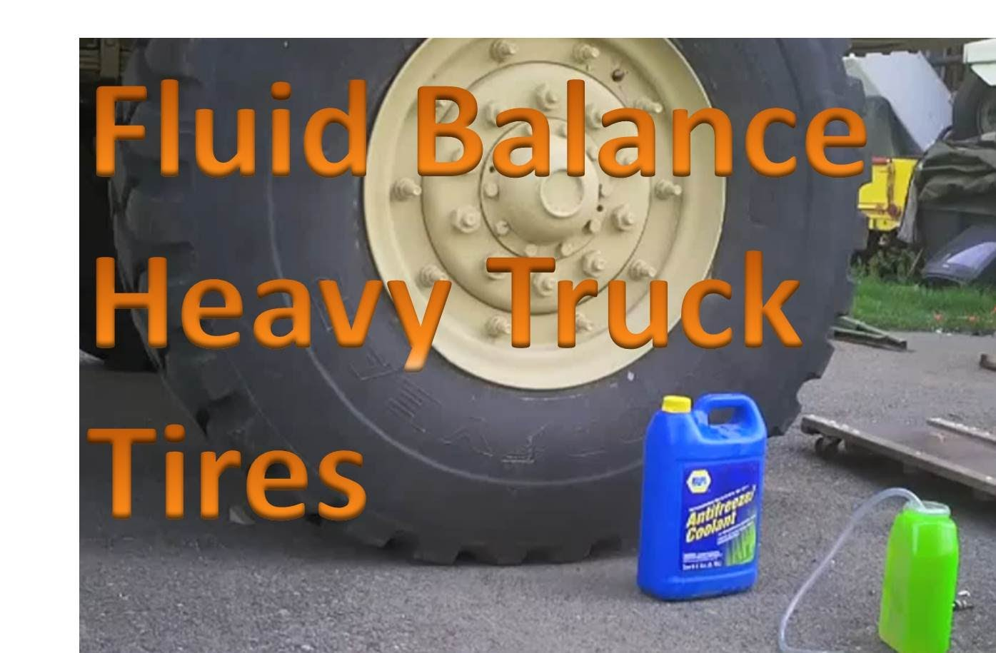 Fluid Balance For Heavy Truck Tires