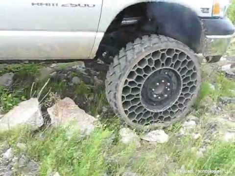 no more Flat Tire offroad 4x4