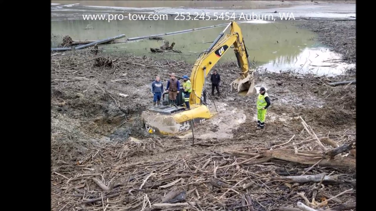 USACE Excavator Recovery | Pro-Tow 24hr Towing