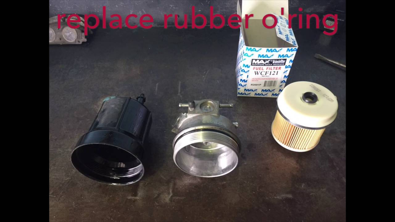 Izusu NPR Fuel Filter Replacement