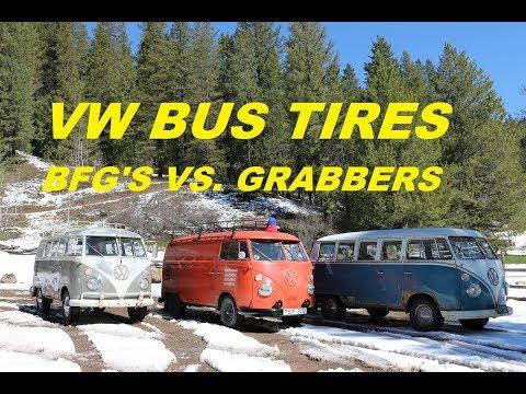 Volkswagen Bus Tires.  What kind of tires should you buy?