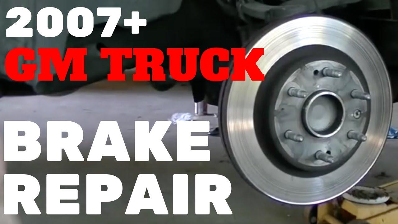 2007-13 GM TRUCK FRONT BRAKE REPAIR | Silverado Tahoe Sierra Suburban Yukon