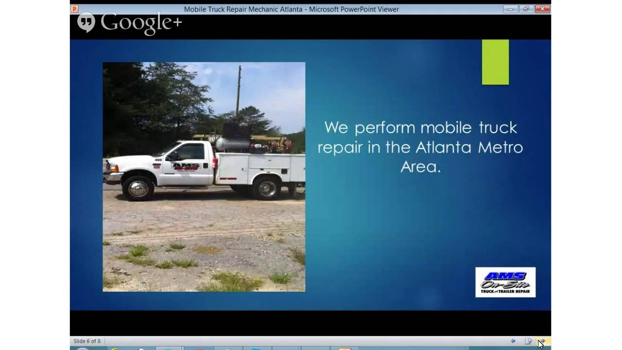 (404) 537-3883 Mobile Truck Mechanic Emergency Repair Atlanta