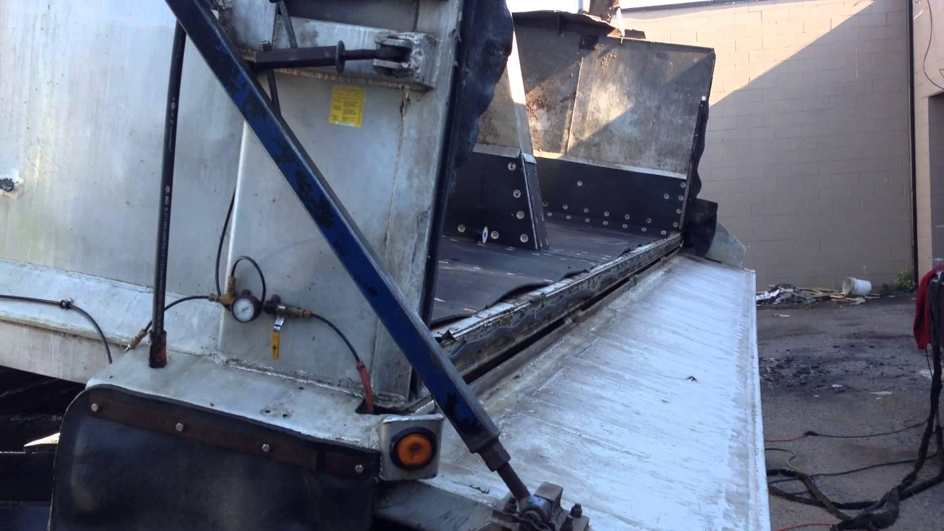 Aluminium Tractor Trailer repair Emergency welding operations
