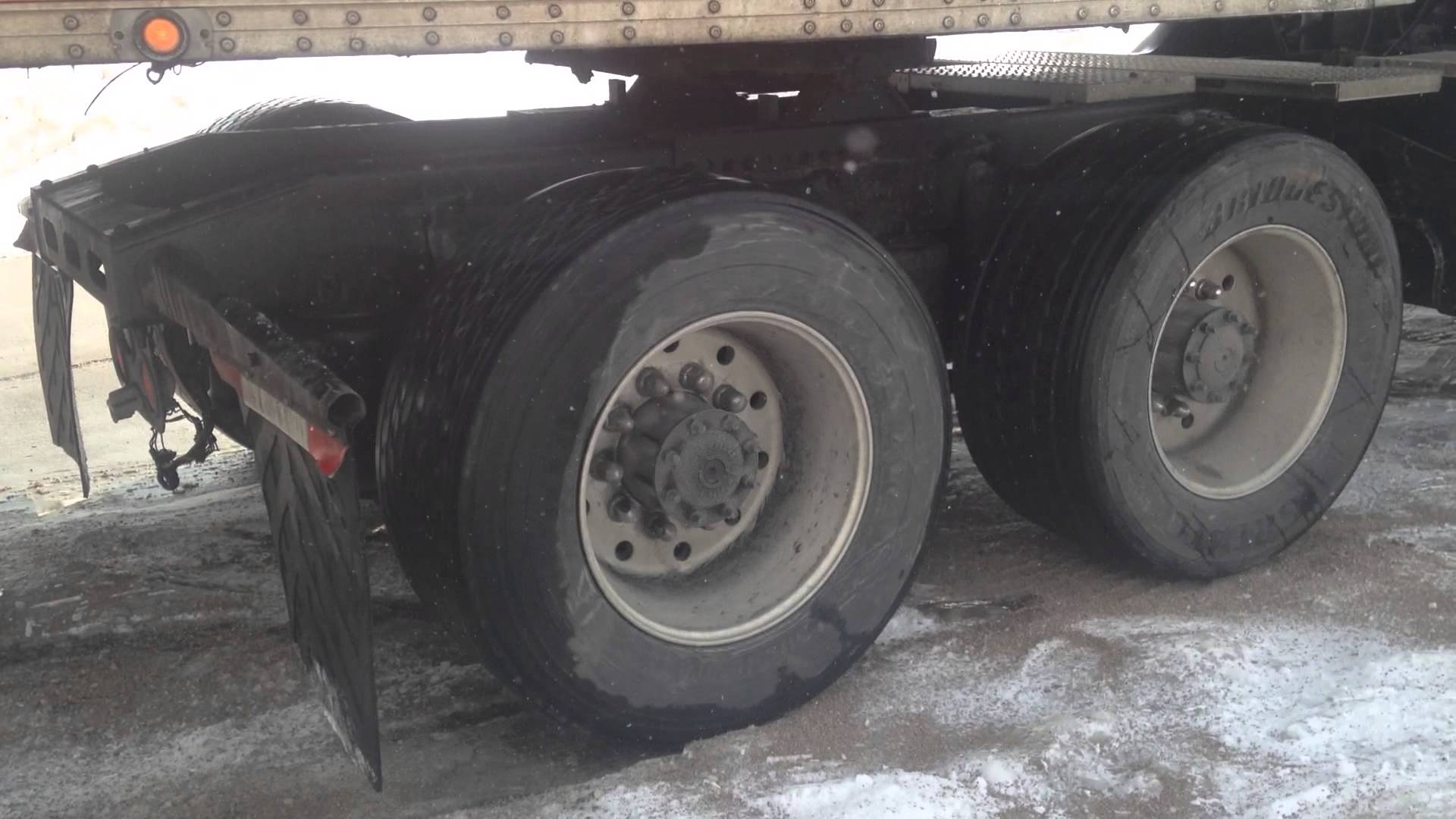 BIG RIG SPINNING TIRES