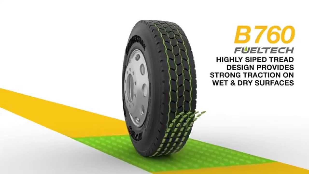 Bridgestone Tires Animation
