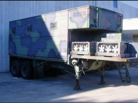 Electrical Repair Shop Equipment Mounted Semi Trailer on GovLiquidation.com