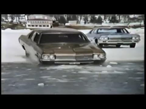 Firestone Tires 'Dangerous Ice' Commercial (1970)