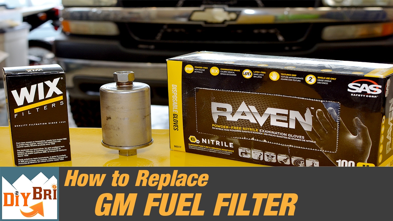 How To Replace a Fuel Filter on a Chevy Truck | 2006 & Older