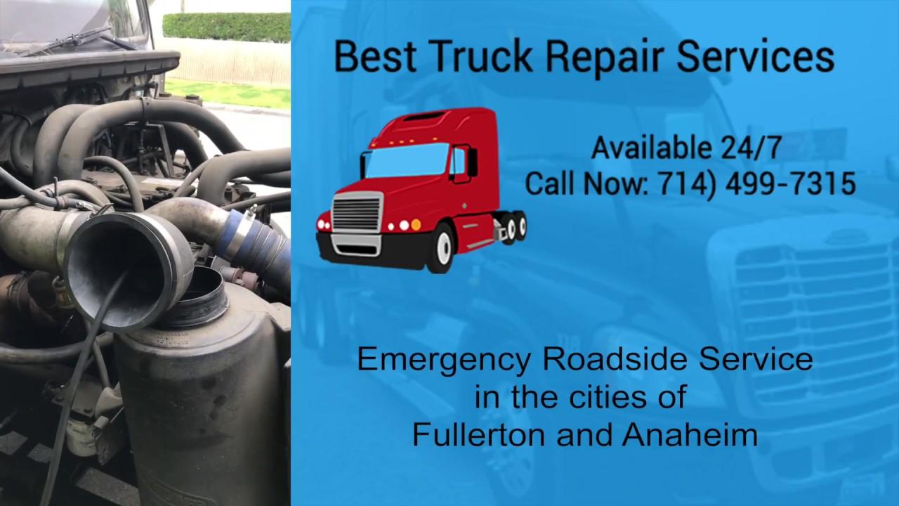 Mobile Truck Repair Service Fullerton