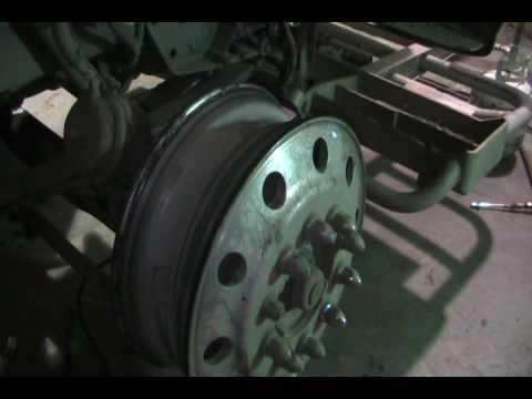 big rig tire change over