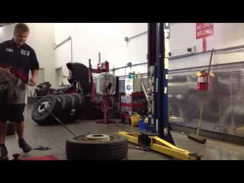 "Break down 19.5"" tires"