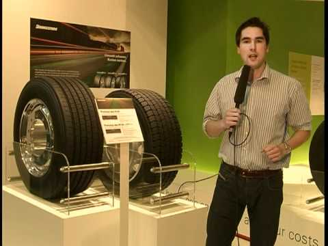 Bridgestone Truck Tyres at the IAA Commercial Vehicles 2010 - Future products