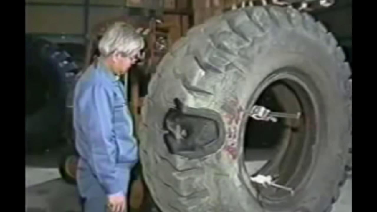 HYPNOTIC Video Amazing Repairing $30 000 Damaged GIANT Tire - Extreme Tire Repair Kit How It's Made