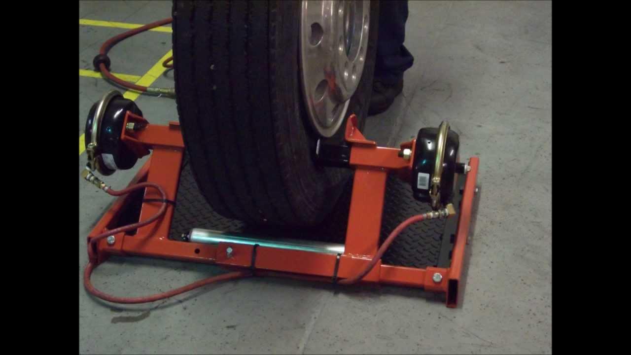 Pneumatic Double Bead Breaker for Truck Tire [Model 20425]