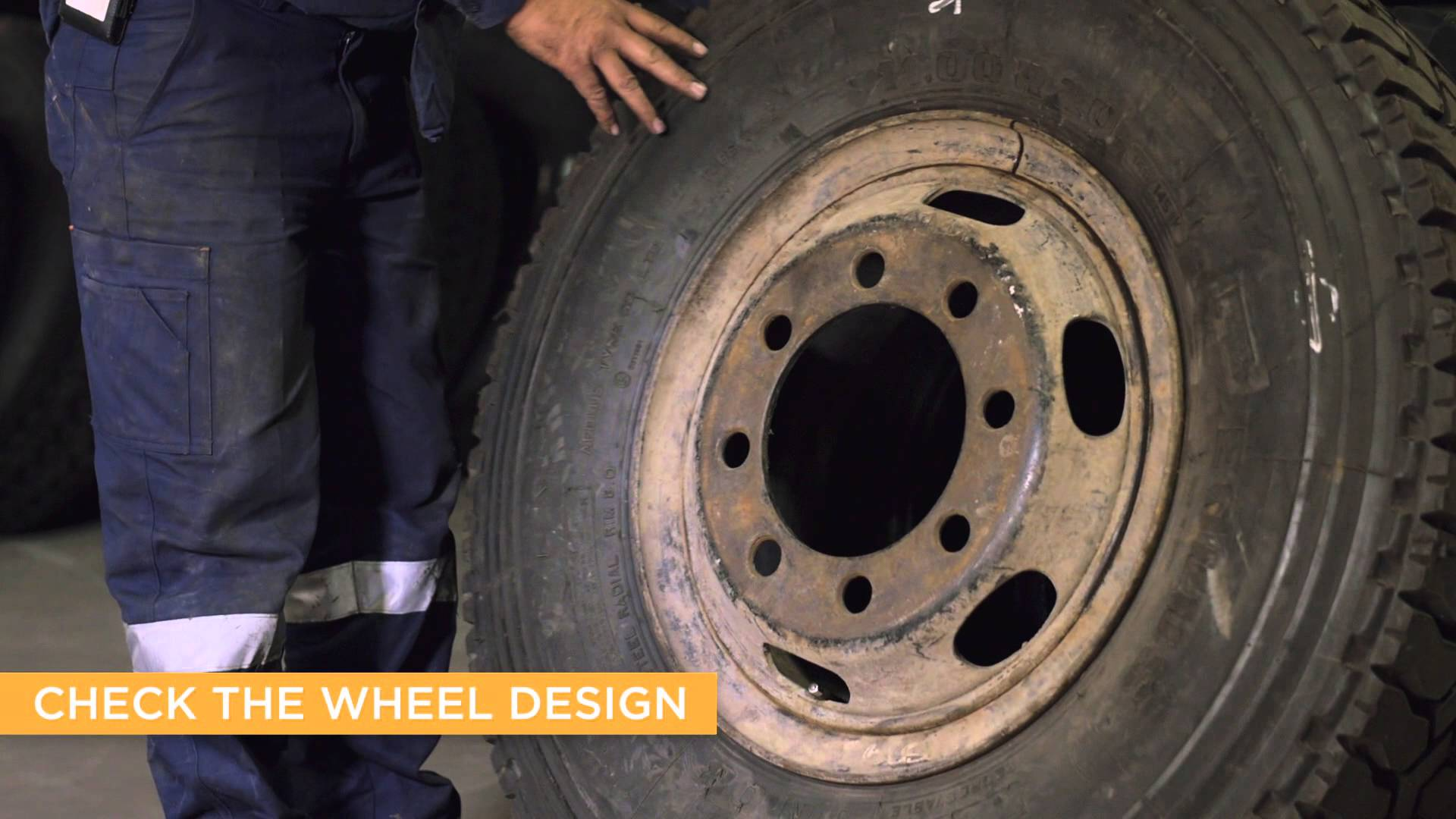 Split rims and multi-piece wheels video safety alert