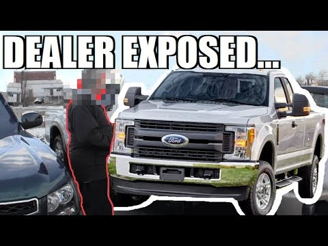 Truck Shopping Gone WRONG... TERRIBLE Ford Dealer Convinces me to NEVER BUY A FORD PRODUCT