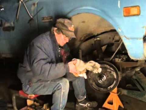 1969 GMC 4x4 Front Axle Repair