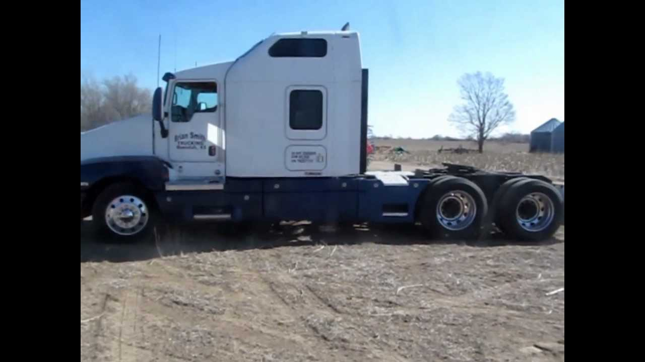 2007 Kenworth T600B AeroCab semi truck for sale   sold at auction April 16, 2013