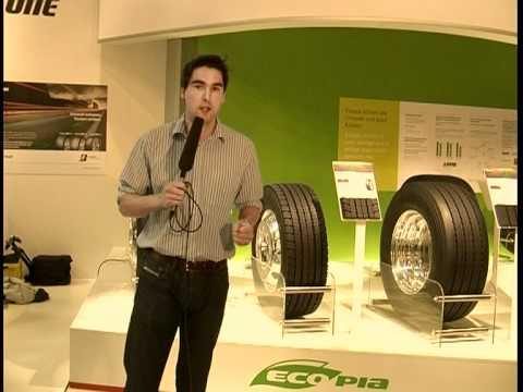 Bridgestone Truck Tyres at the IAA Commercial Vehicles 2010 - Ecopia Range