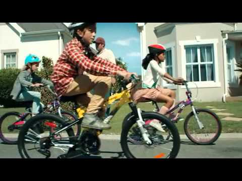 Canadian Tire Bicycle and Bike Gang Commercial Advert 2013 for Kids Men & Women who Need a New Ride