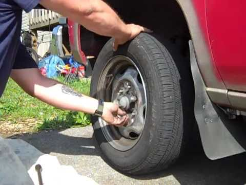 How to change front brakes on a 1990 nissan truck