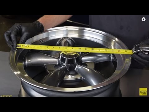 How To Measure Wheel Size and Fitment Diameter Offset Backspacing Width Bolt Pattern Lug Nuts