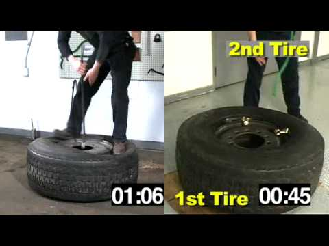 Ken-Tool:  Super Single Truck Tire Mount / Dismount Using Super Serpent™ Tire Tools